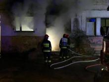 Pożar pustostanu na Romualda Traugutta w Opolu. W akcji 4 zastępy straży pożarnej