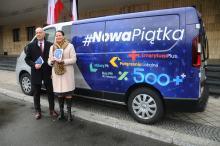 Specjalny bus odwiedzi powiaty Opolszczyzny by przedstawiać program Kaczyńskiego