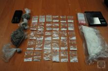 Aresztowali 36-latka za posiadanie amfetaminy i marihuany