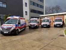 Cztery nowe karetki zasilą Opolskie Centrum Ratownictwa Medycznego