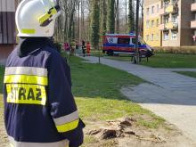 Śmigłowiec LPR lądował w Strzelcach Opolskich do poparzonego 2-latka