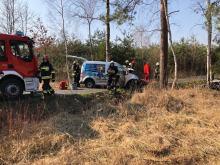 Śmiertelny wypadek na drodze gminnej prowadzącej do Suchego Boru