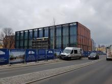 Zaglądamy na plac budowy galerii Solaris Center
