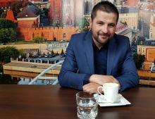 Marcin Ćwielong -  z winorośli z Opolszczyzny da się zrobić dobre wino