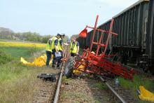 Tragedia na przejeździe kolejowym w gminie Głogówek