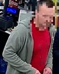 Policja publikuje wizerunek osoby podejrzewanej o przywłaszczenia mienia
