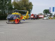Wypadek w Juraparku. Rusztowanie przygniotło mężczyznę