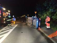 Wypadek w rejonie ul. Rozwadzkiej i Żyrowskiej w Zdzieszowicach