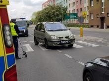 Potrącenie na przejściu dla pieszych na ulicy Fabrycznej w Opolu