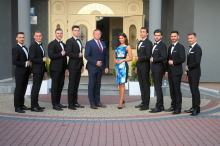 8 kandydatów do tytułu Mister Opolszczyzny 2019 odpowiadało na pytania jury
