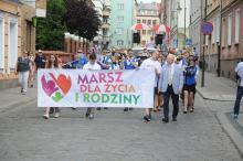 Marsz dla Życia i Rodziny przeszedł ulicami miasta