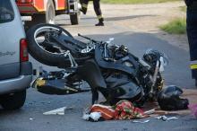 Groźny wypadek w Lewinie Brzeskim, zadysponowano śmigłowiec LPR