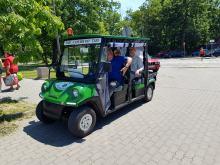 Taxi Parkowe pomoże starszym i niepełnosprawnym dotrzeć do grobów bliskich