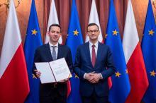 Rekonstrukcja rządu dotknęła również Marcina Ociepę, który awansował na sekretarza stanu