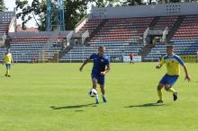 Na stadionie Odry Opole rozegrano mecz Dziennikarze kontra MOSiR