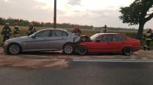3 auta zderzyły się w Jaczowicach. Jedna osoba ranna