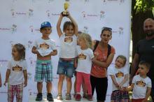 Ponad 300 przedszkolaków przebiegło przez Park Nadodrzański
