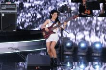 Dopełniła show Felicjanowi Andrzejczakowi, co zrobiła na scenie?