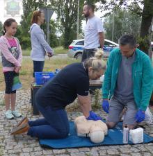 Zamiast mandatu - lekcja pierwszej pomocy