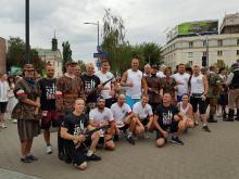 Zawodnicy z Klubu Biegowego Odra Opole pobiegli w biegu Powstania Warszawskiego