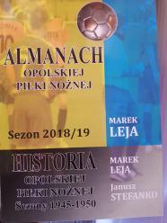 Almanach opolskiej piłki nożnej już w sprzedaży. Marek Leja zaprezentował swoją drugą książkę