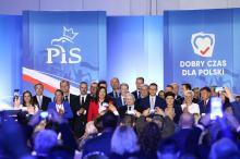 Jarosław Kaczyński na konwencji tematycznej Prawa i Sprawiedliwości w Opolu