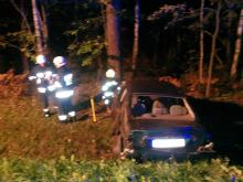 Pijany 27-latek nie opanował pojazdu i wylądował w rowie