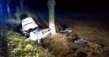 Tragiczne zdarzenie na trasie Biała - Solec
