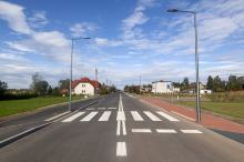 Zakończono przebudowę Drogi Wojewódzkiej 435 w Mechnicach