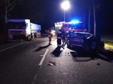 Śmiertelny wypadek pod Brzegiem, zginął obywatel Włoch