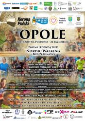 Pierwsza Korona Polski na południu kraju w Nordic Walking