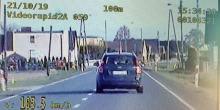 """Działania grupy """"Speed"""" na drogach powiatu prudnickiego"""