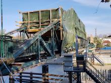 Trwają prace na moście Ireny Sendlerowej. Kiedy pojedziemy odnowioną przeprawą?