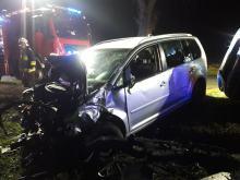 Wypadek w gminie Strzeleczki. 3 osoby ranne