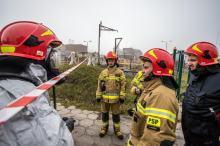 Strażacy ćwiczyli działania ratownicze w przypadku awarii przemysłowej