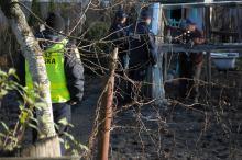 Martwa kobieta znaleziona na ogródkach działkowych w Prudniku