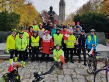 Święto Niepodległości miłośnicy rowerów uczcili na sportowo