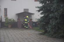 Pożar kotłowni w Zawadzie