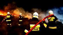 Około 200 metrów kwadratowych nielegalnych odpadów płonęło w Łambinowicach