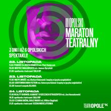 Rusza III Maraton Teatralny