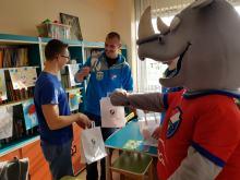 Opolscy Gwardziści spotkali się z dziećmi na pediatrii w Uniwersyteckim Szpitalu Klinicznym