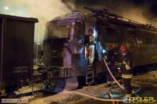 Pijany maszynista i płonąca lokomotywa. Nowe okoliczności pożaru na stacji w Kluczborku