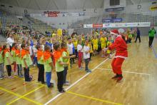 Blisko 300 przedszkolaków wzięło udział w Mikołajkowym Turnieju Przedszkolaka