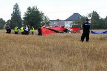 Prokuratura umarza śledztwo w sprawie wypadku lotniczego w Domecku. Winny pilot