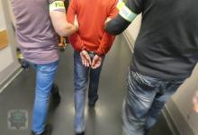 Włamywacz z łupami trafił prosto do aresztu