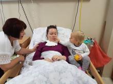 Marta po porodzie doznała udaru. Potrzebne jest kosztowne leczenie