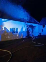 Ogromne straty materialne po pożarze w powiecie nyskim