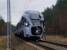 Przywrócono ruch pociągów po tragicznym wypadku w miejscowości Nowa Schodnia