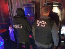 Nielegalne automaty do gier zabezpieczone przez kryminalnych