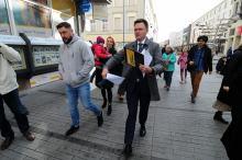 Szymon Hołownia otworzył swoje biuro w Opolu